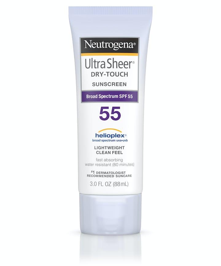 Neutrogena Ultra Sheer® Dry-Touch Sunscreen Broad Spectrum SPF 55