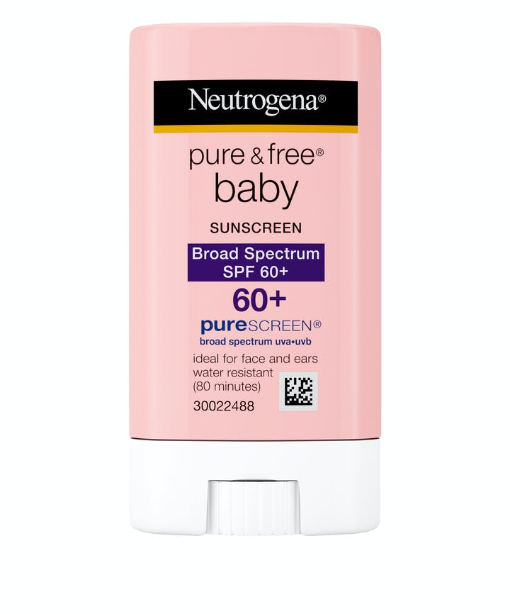 Neutrogena Pure & Free® Baby Sunscreen Stick Broad Spectrum SPF 60+