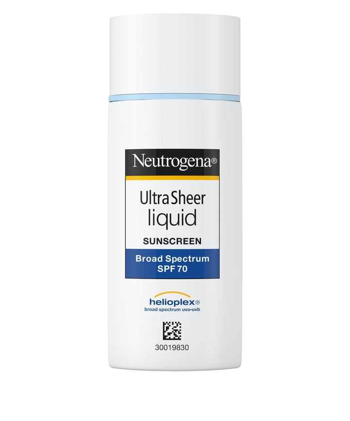 Neutrogena Ultra Sheer® Liquid Sunscreen Broad Spectrum SPF 70