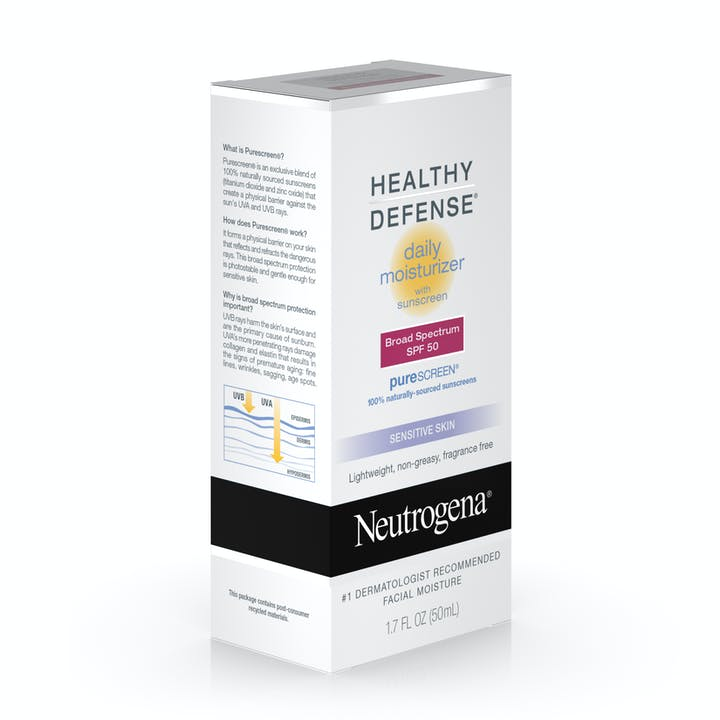 Healthy Defense® Daily Moisturizer with Sunscreen Broad Spectrum SPF 50-Sensitive Skin