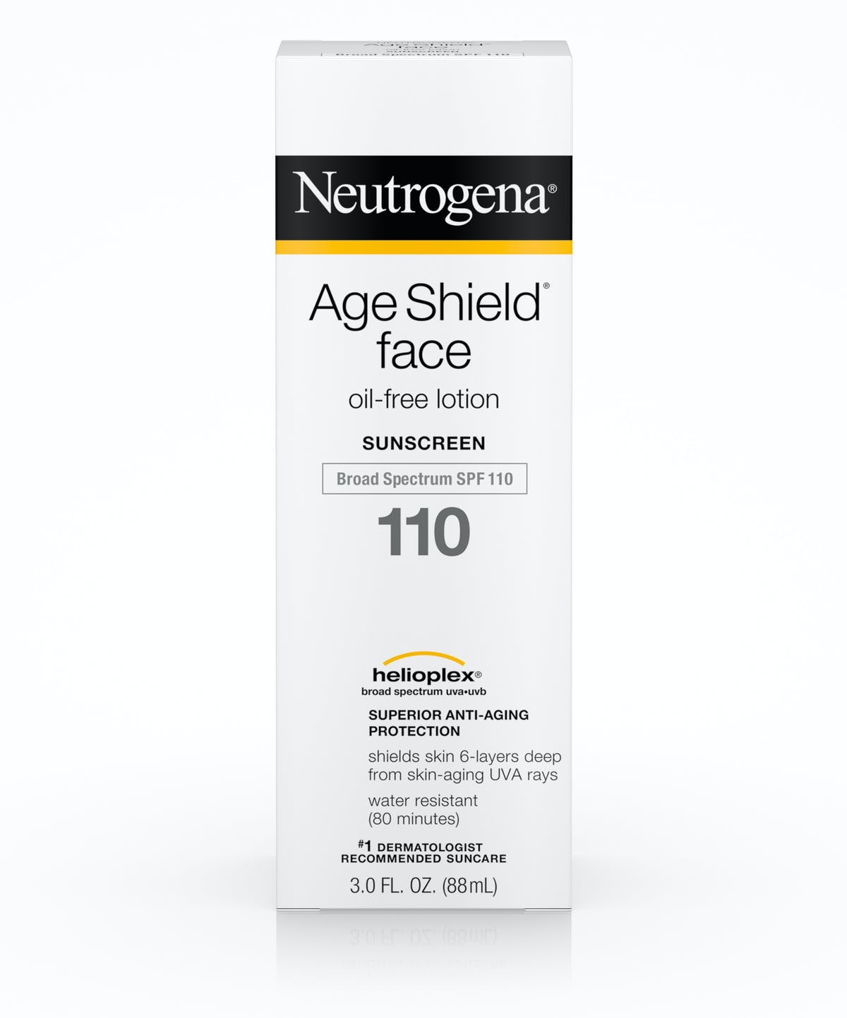 1e9f1a62c ... SPF 110 · Age Shield® Face Oil-Free Lotion Sunscreen Broad Spectrum  ...