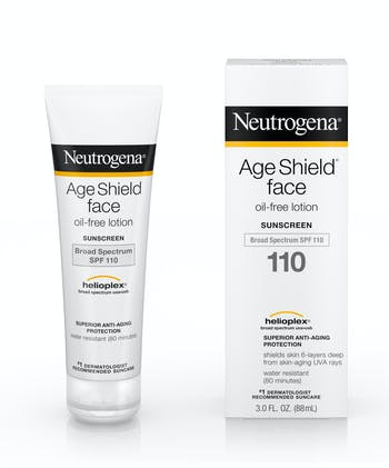Neutrogena Age Shield® Face Oil-Free Lotion Sunscreen Broad Spectrum SPF 110