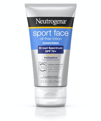 Sport Face Oil-Free Lotion Sunscreen Broad Spectrum SPF 70+