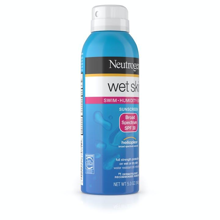 Wet Skin Sunscreen Spray Broad Spectrum SPF 30