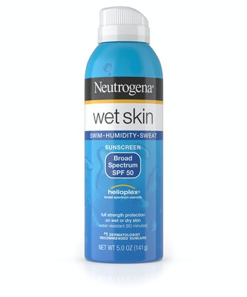 Wet Skin Sunscreen Spray Broad Spectrum SPF 50