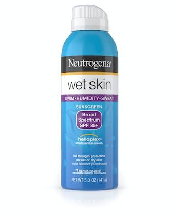 Wet Skin Sunscreen Spray Broad Spectrum SPF 85+