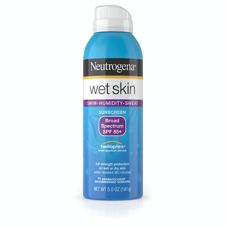 Neutrogena Wet Skin Sunscreen Spray Broad Spectrum SPF 85+
