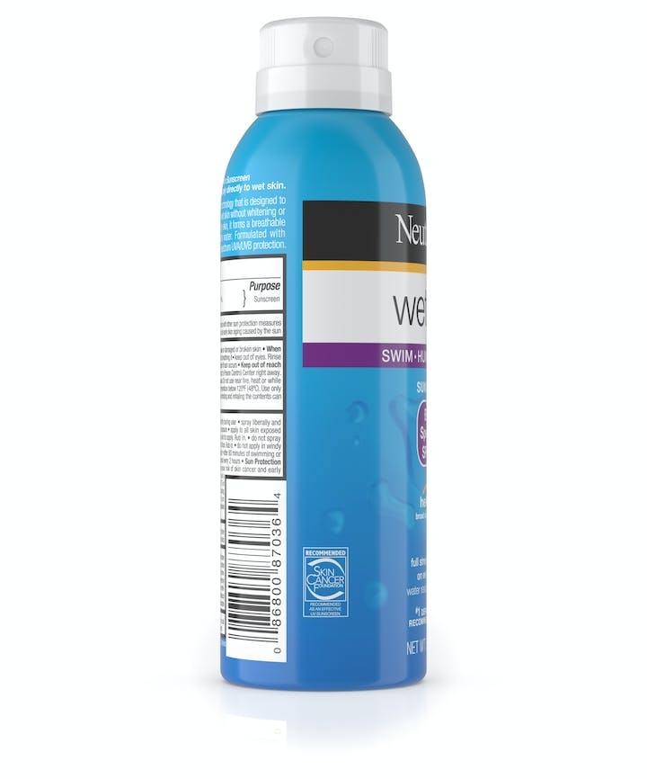 Wet Skin Sunscreen Spray Broad Spectrum SPF 85+