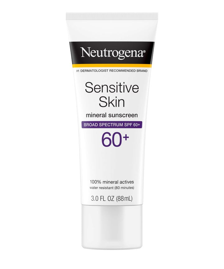 Neutrogena Sensitive Skin Sunscreen Lotion Broad Spectrum SPF 60+