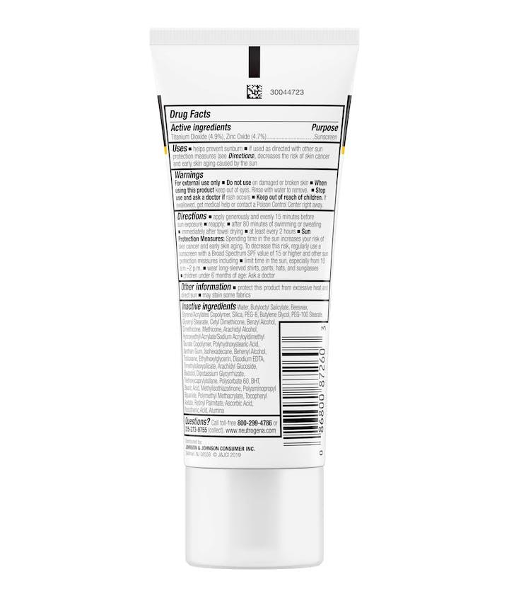 Sensitive Skin Sunscreen Lotion Broad Spectrum SPF 60+