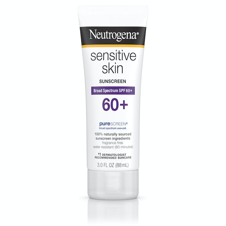 Neutrogena Sensitive Skin Sunscreen Lotion Broad Spectrum SPF 60+