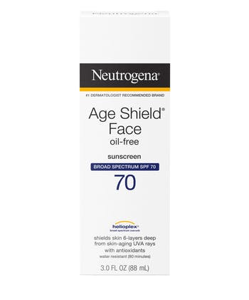 Age Shield® Anti-Oxidant Face Lotion Sunscreen Broad Spectrum SPF 70