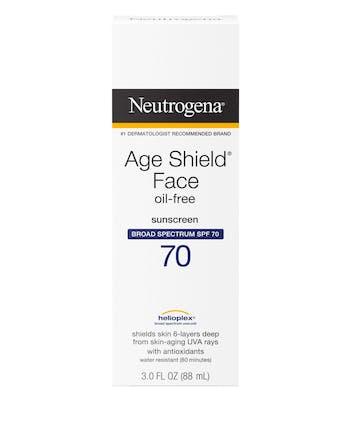 Age Shield® Anti-Oxidant Face Lotion Sunscreen Broad Spectrum SPF 70