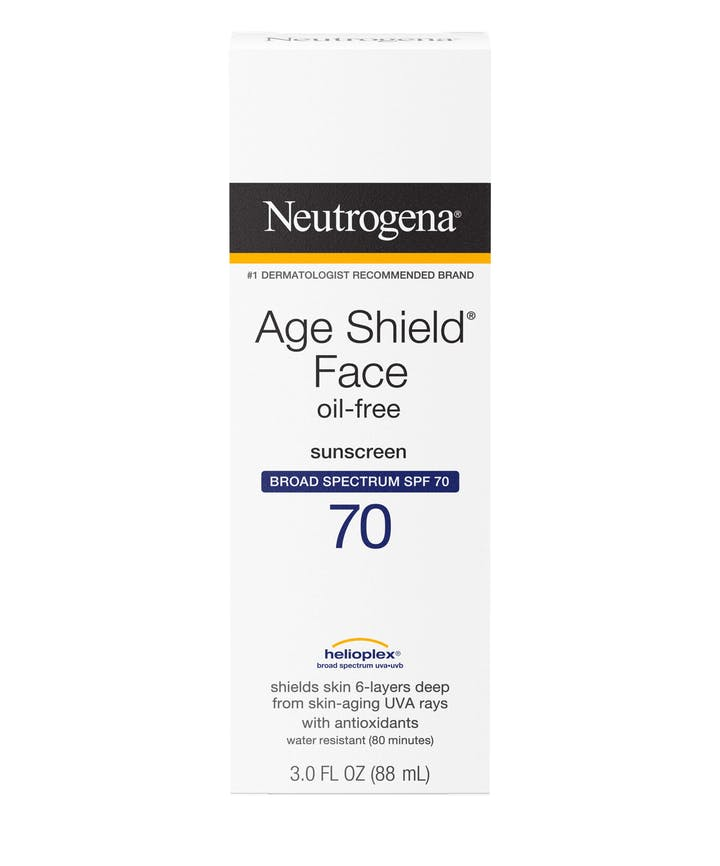 Neutrogena Age Shield® Anti-Oxidant Face Lotion Sunscreen Broad Spectrum SPF 70