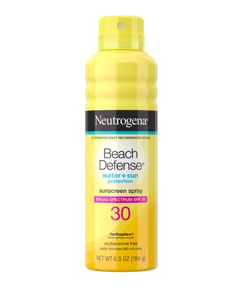 Beach Defense® Water + Sun Protection Sunscreen Spray Broad Spectrum SPF 30