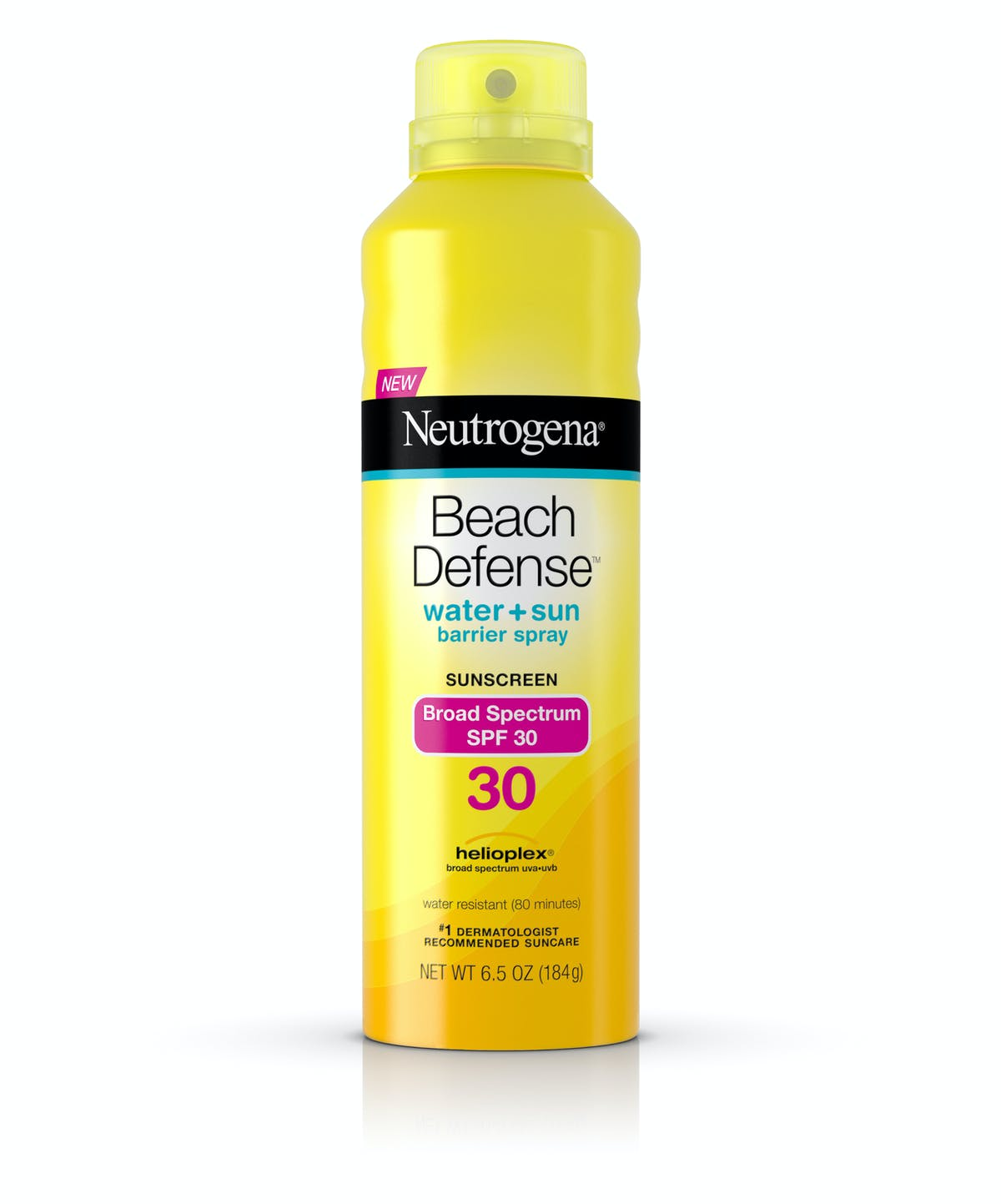 Beach Defense Reg Water Sun Protection Sunscreen Spray Broad Spectrum