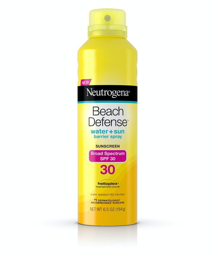 Neutrogena Beach Defense® Water + Sun Protection Sunscreen Spray Broad Spectrum SPF 30