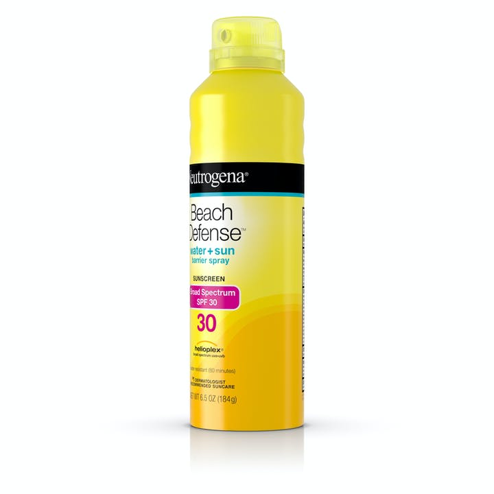 Beach Defense® Water + Sun Protection Sunscreen Spray Broad Spectrum SPF 30
