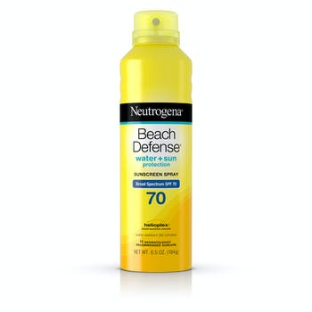 Beach Defense® Water + Sun Protection Sunscreen Spray Broad Spectrum SPF 70
