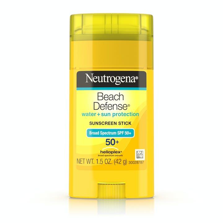 Neutrogena Beach Defense® Water + Sun Protection Sunscreen Stick Broad Spectrum SPF 50+