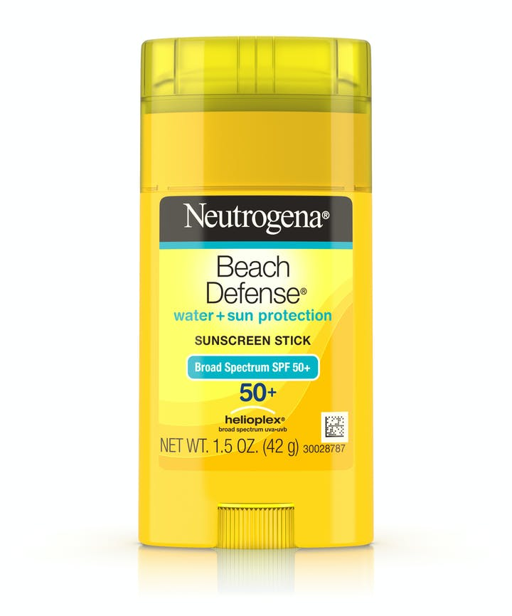 Neutrogena Beach Defense® Water + Sun Protection Sunscreen Stick Broad Spectrum SPF 50+