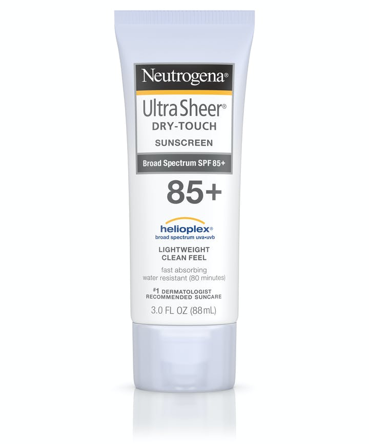 Neutrogena Ultra Sheer® Dry-Touch Sunscreen Broad Spectrum SPF 85