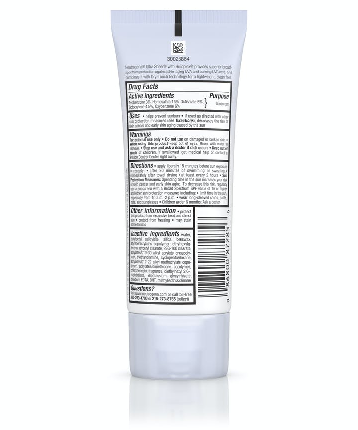 Ultra Sheer® Dry-Touch Sunscreen Broad Spectrum SPF 85