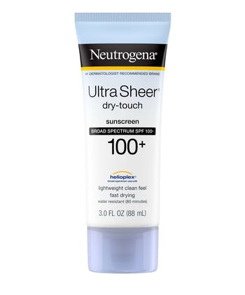 Neutrogena Ultra Sheer® Dry-Touch Sunscreen Broad Spectrum SPF 100+
