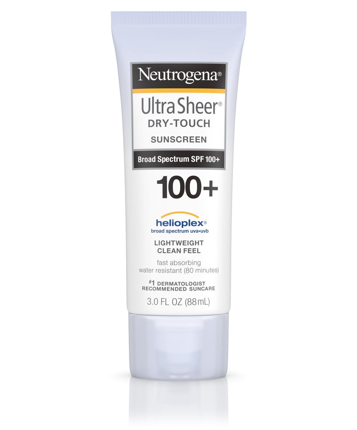 20707670c Ultra Sheer® Dry-Touch Sunscreen Lotion SPF 100   Neutrogena®