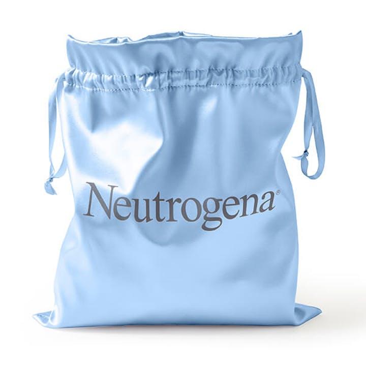 Neutrogena® Gift Pouch - Blue Satin