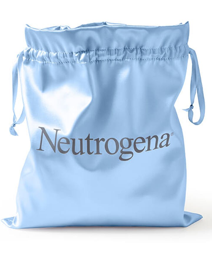 Neutrogena® Gift Pouch - Blue Satin