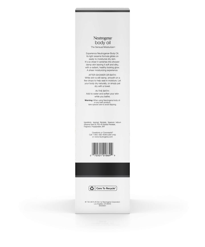 Body Oil – Original Scent