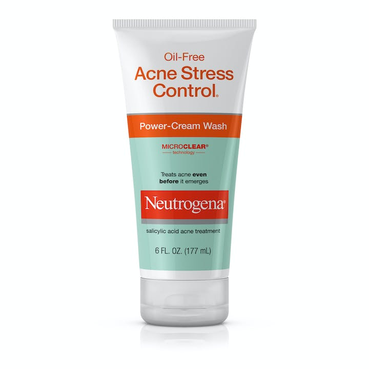 Neutrogena Oil-Free Acne Stress Control® Power-Cream Wash