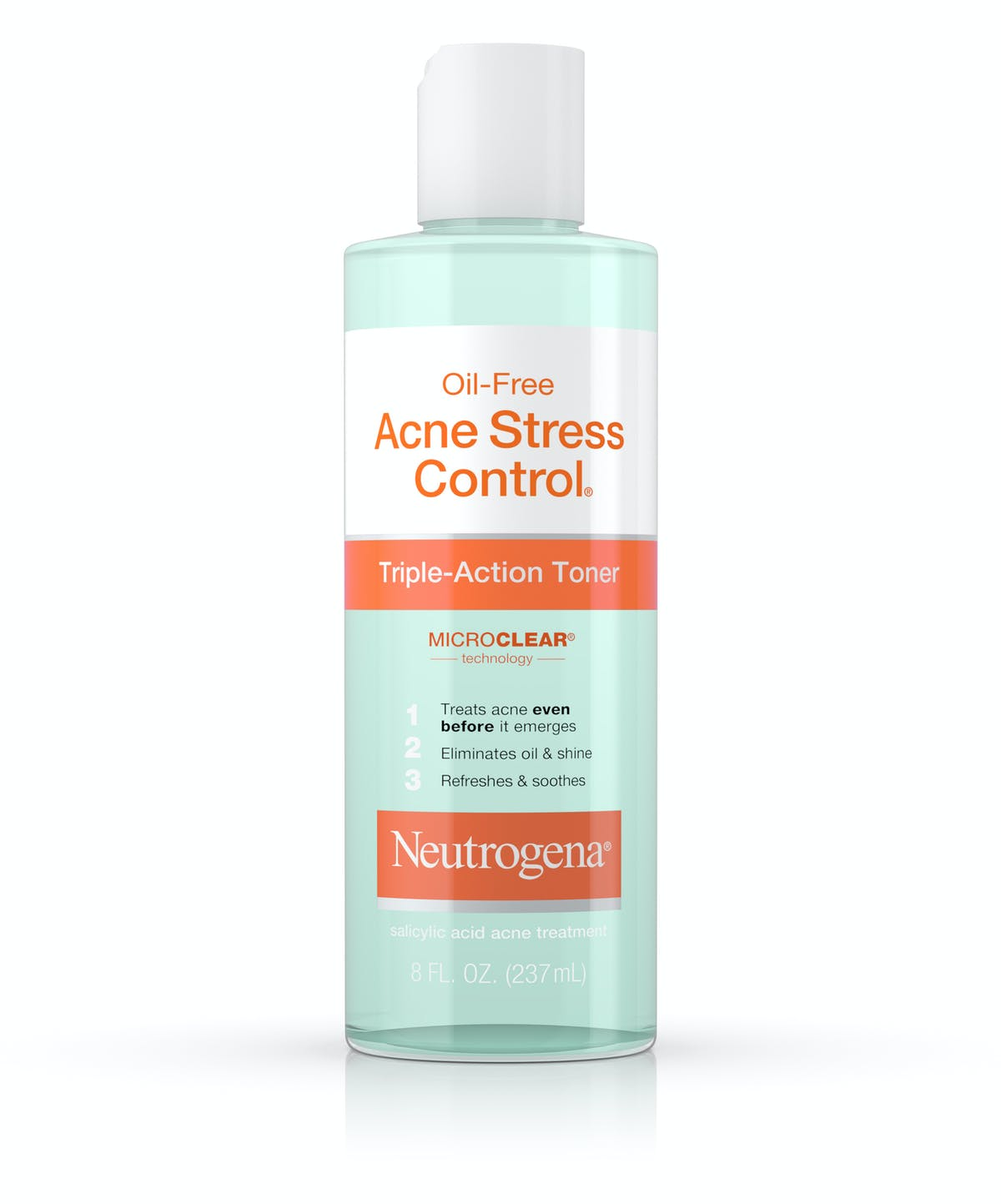 Oil Free Acne Stress Control Triple Action Face Toner Neutrogena