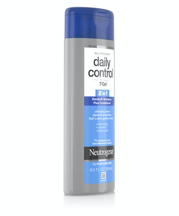 T/Gel Daily Control® 2-in-1 Dandruff Shampoo Plus Conditioner