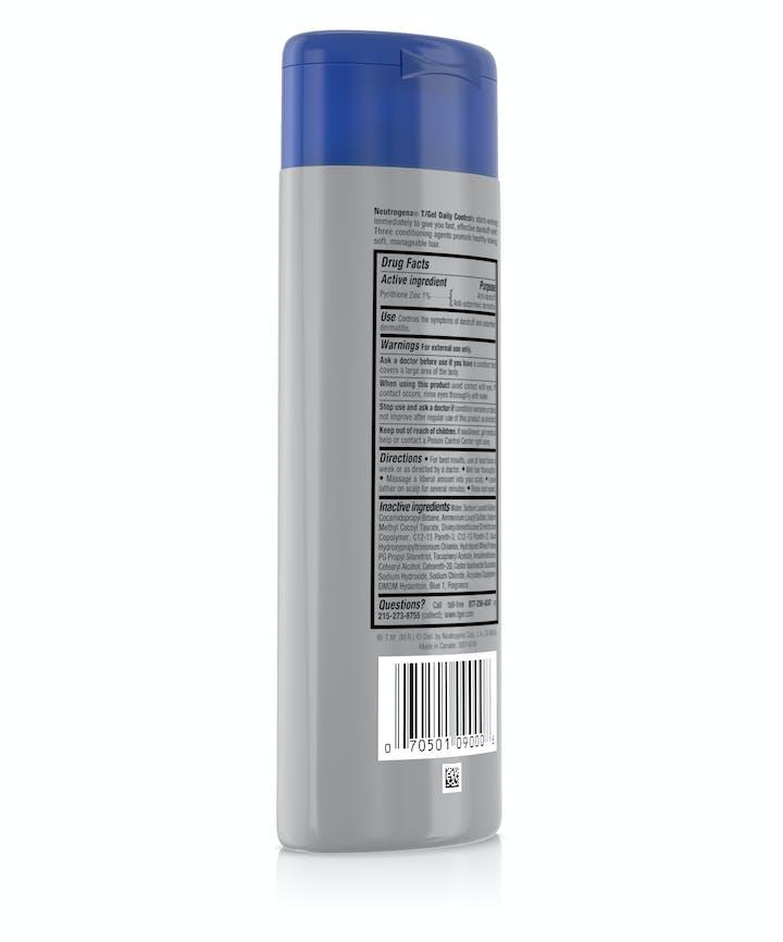 T/Gel Daily Control® 2-in-1 Dandruff Shampoo Plus Conditioner