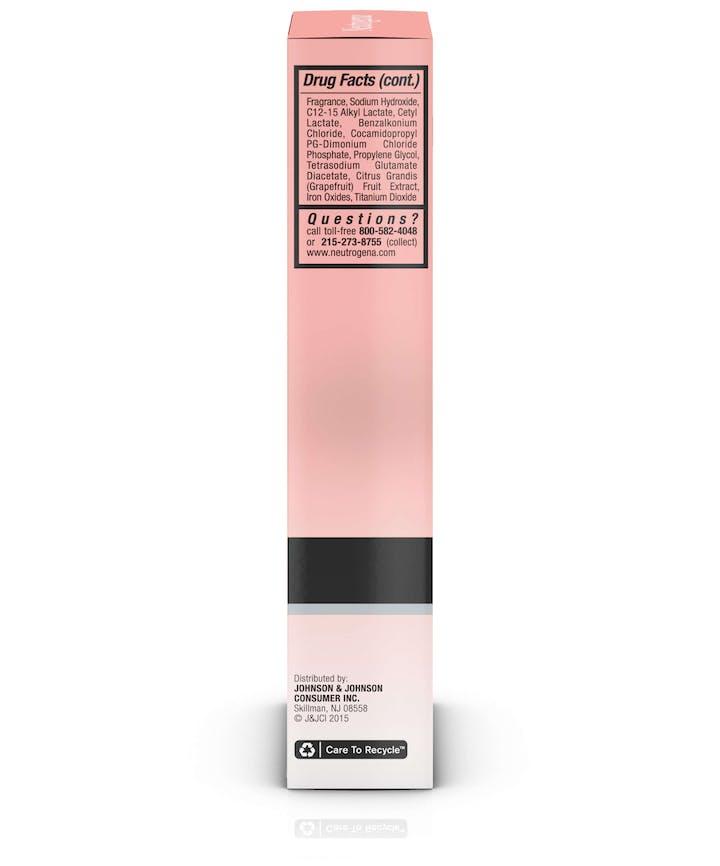 Oil-Free Acne Correct & Cover Pink Grapefruit Moisturizer