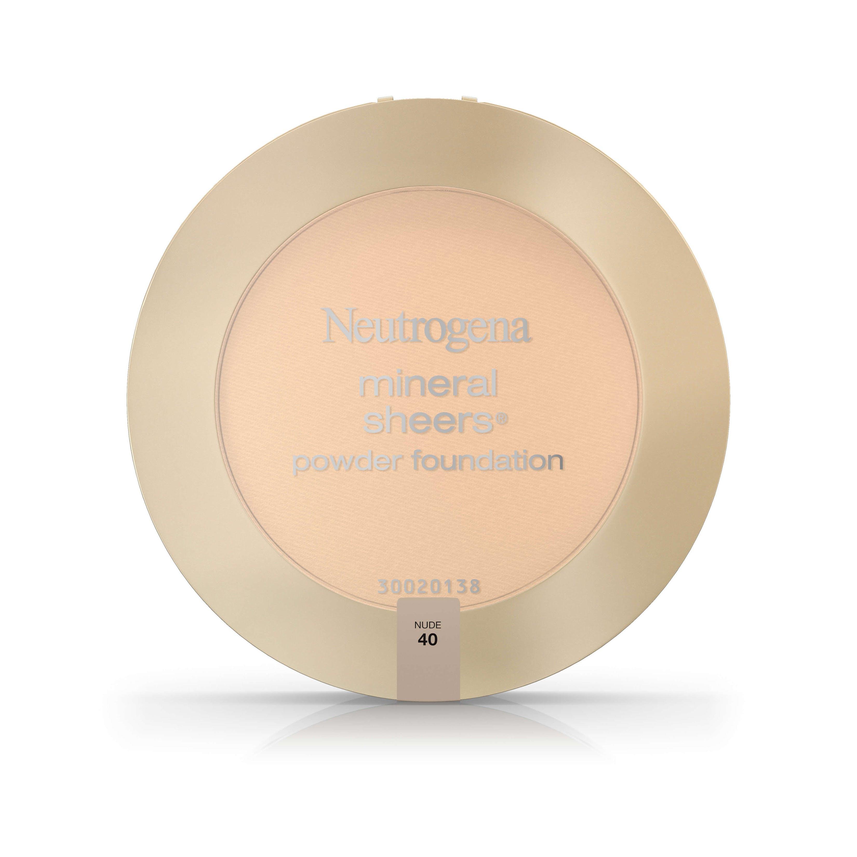 Neutrogena Mineral Sheers Powder Foundation Neutrogena