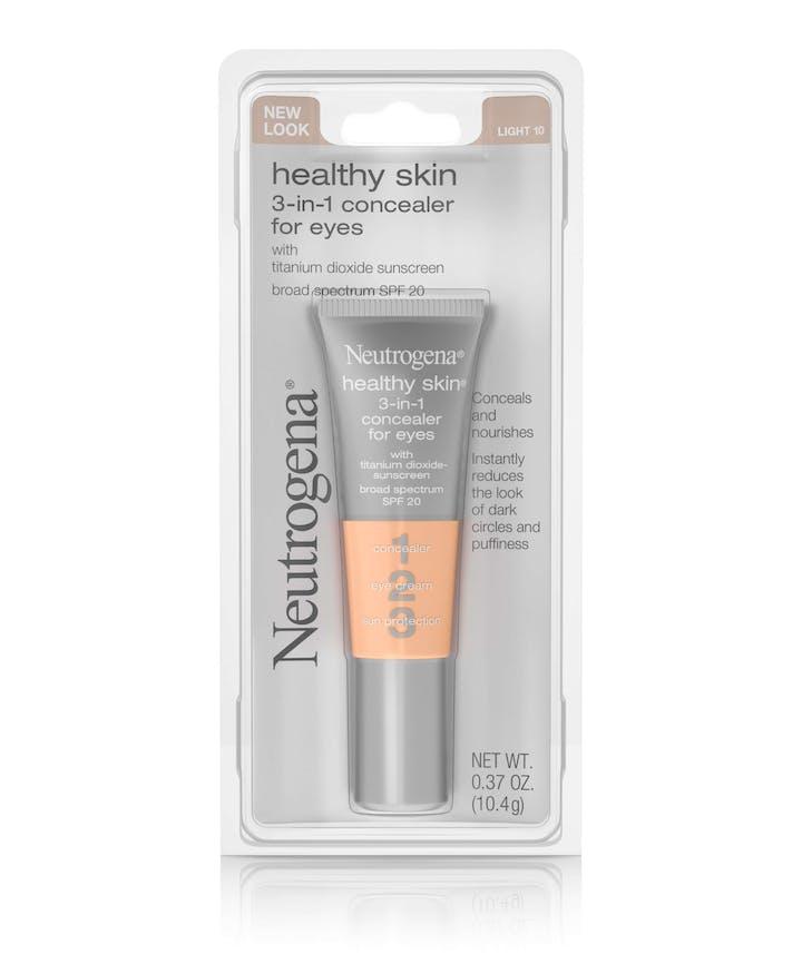 Neutrogena Healthy Skin 3-in-1 Concealer For Eyes Broad Spectrum SPF 20
