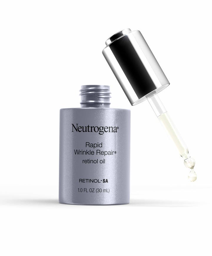 Rapid Wrinkle Repair 0 3 Retinol Oil For Aging Skin Neutrogena