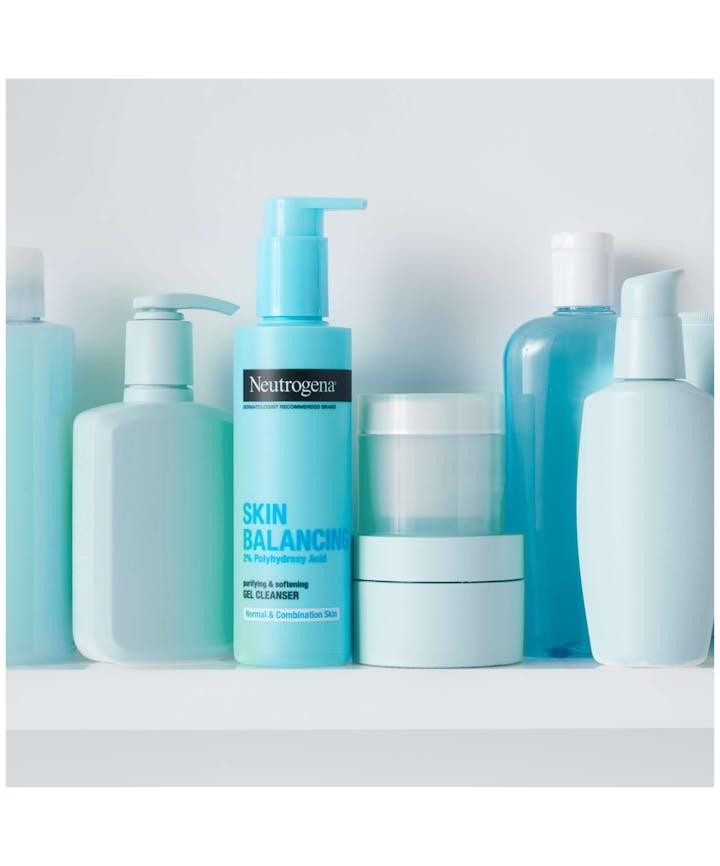 Skin Balancing Gel Cleanser For Combination Skin