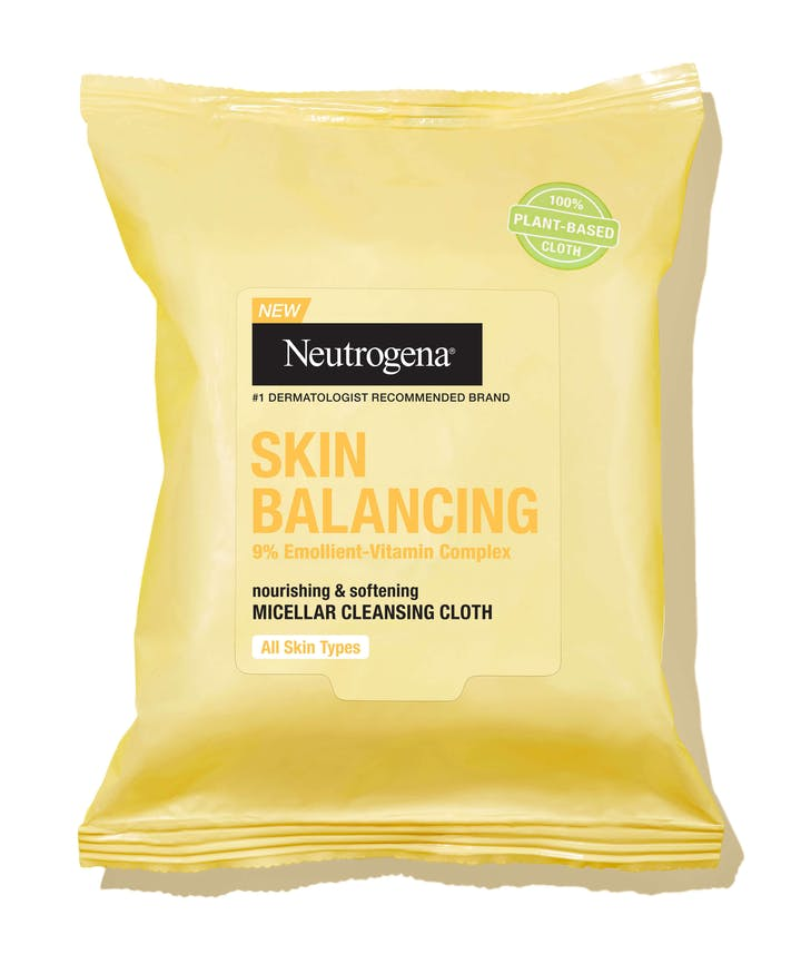 Neutrogena Skin Balancing Micellar Cleansing Cloths