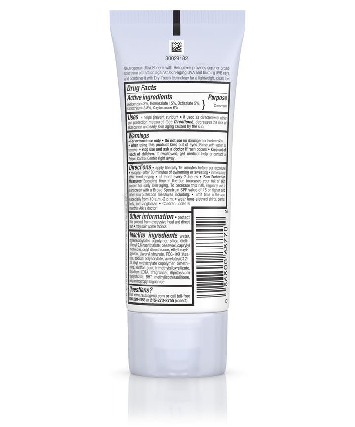 dcf931517 ... SPF 70 · Ultra Sheer reg  Dry-Touch Sunscreen Broad Spectrum ...