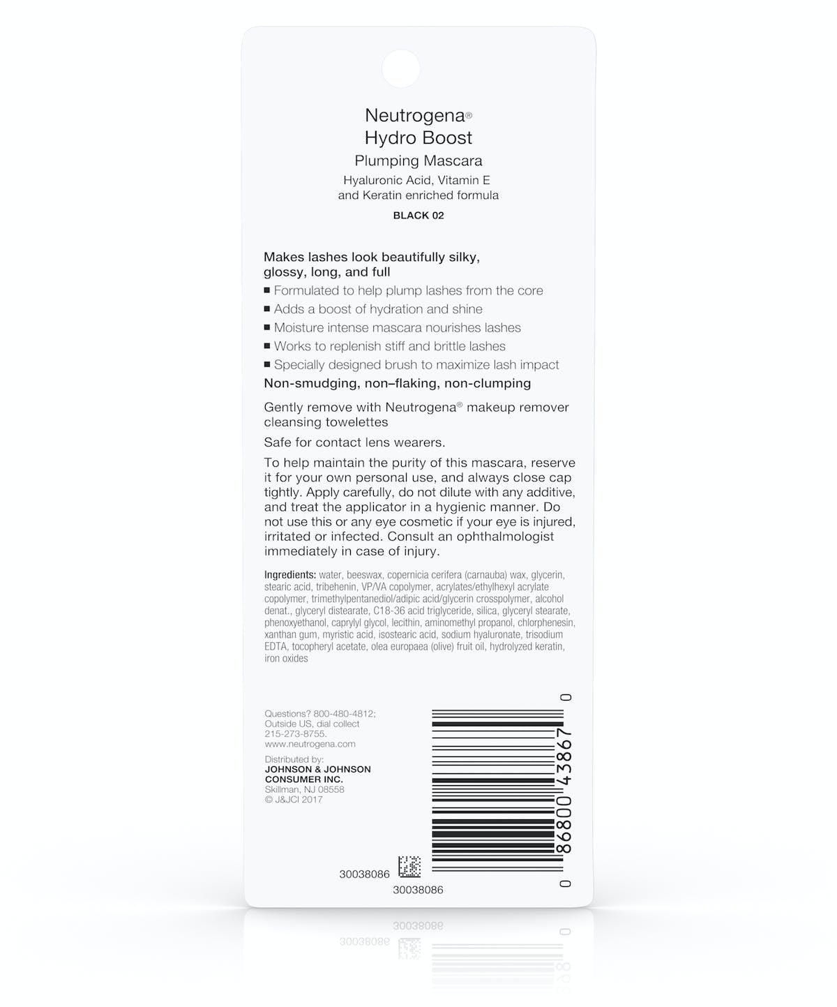 e0a2d0f58df Hydro Boost Volume Plumping Mascara | Neutrogena®