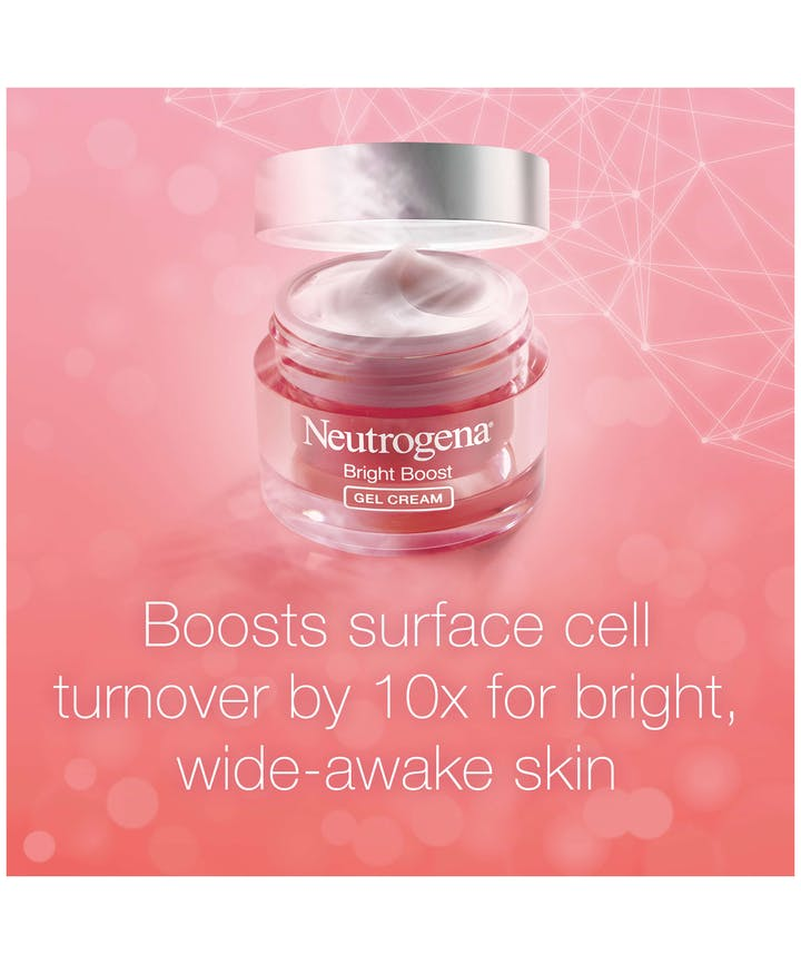 Neutrogena Bright Boost™ Brightening Gel Moisturizing Face Cream with Neoglucosamine®