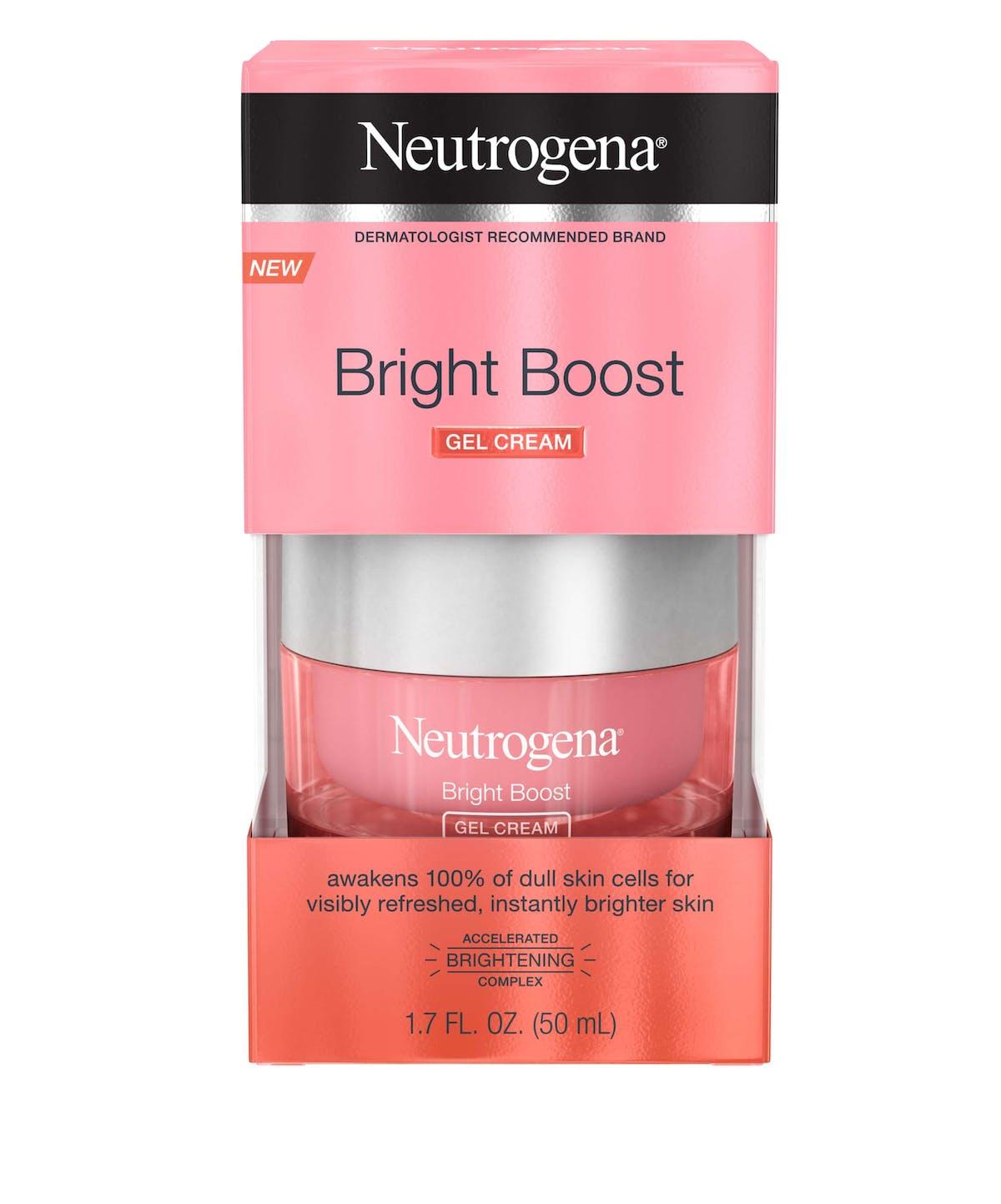 Bright Boost Brightening Gel Moisturizing Face Cream Neutrogena