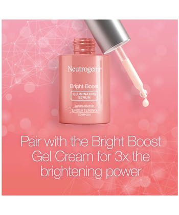Neutrogena Bright Boost™ Illuminating + Brightening Serum With Turmeric