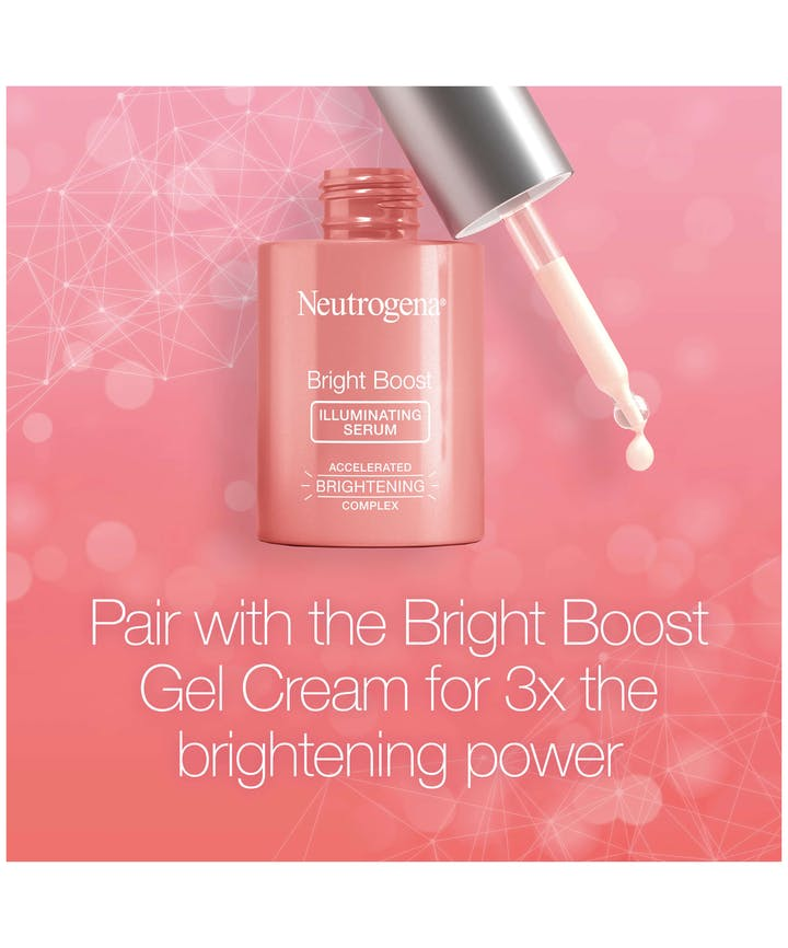 Neutrogena Bright Boost™ Illuminating + Brightening Serum With Turmeric