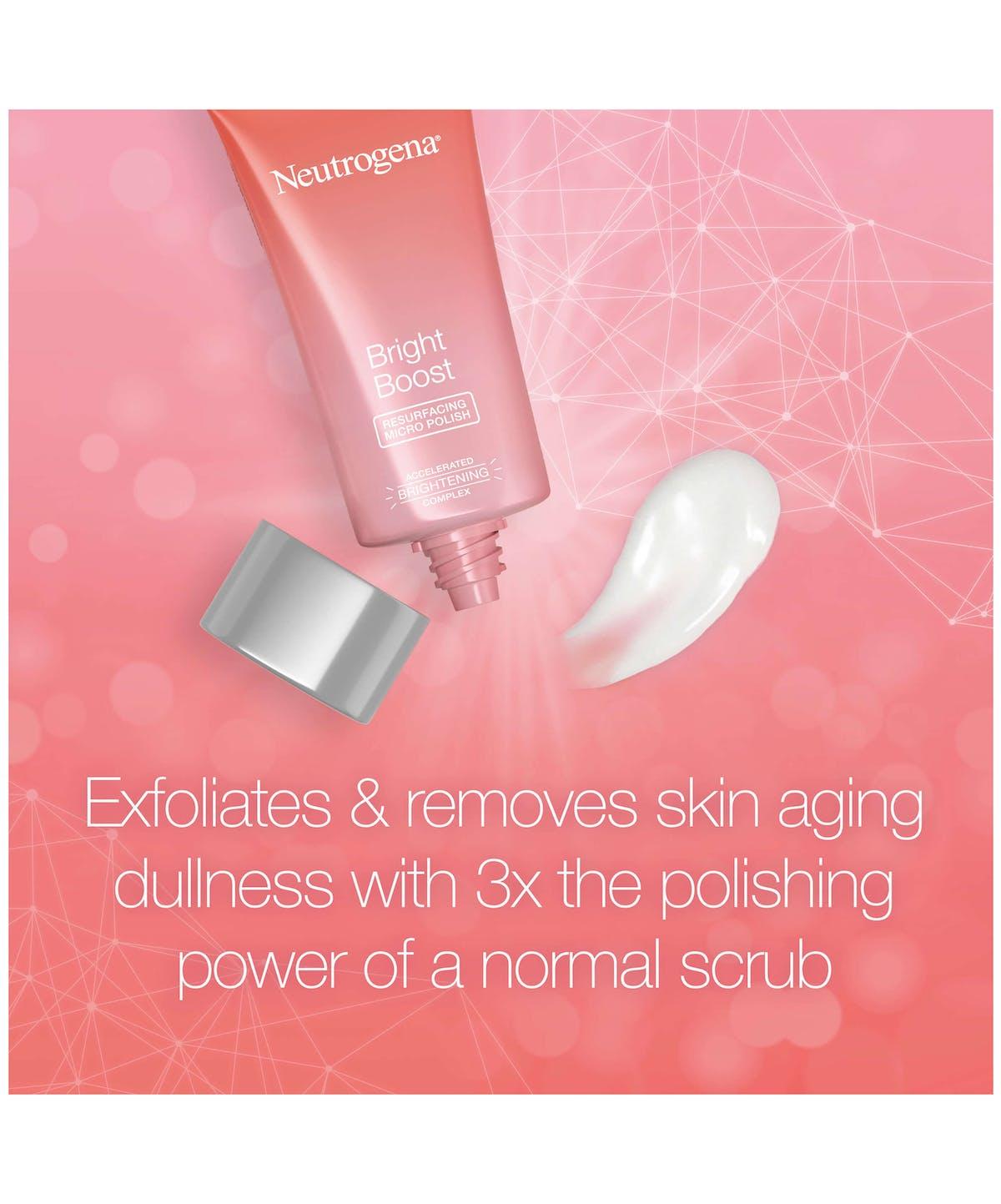 Neutrogena Bright Boost™ Resurfacing Micro Face Polish with Glycolic and  Mandelic AHAs
