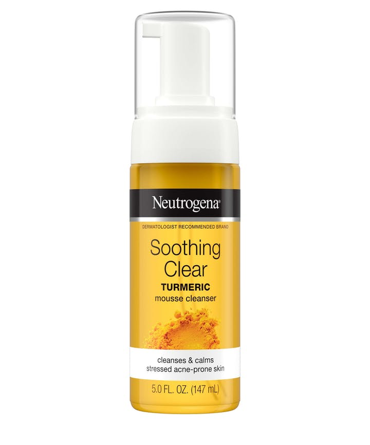 Neutrogena Neutrogena Soothing Clear Turmeric Mousse Cleanser